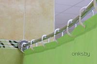 """Карниз на ванну Тритон модель """"Николь"""" из нержавеющей стали"""
