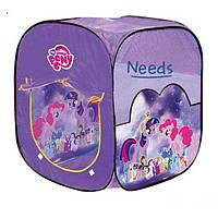 Детская палатка игровая For Baby Little Pony 74х74х82 см в сумке (8008 PN)