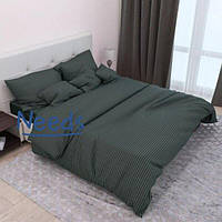 Комплект постельного белья Kris-Pol Изумруд №545918-2е Страйп Сатин двуспальный евро 200х220