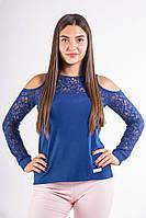 Батник женский 516F0036 цвет Синий