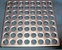 Металлическая плитка, для промышленных полов S=1мм.