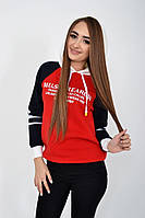 Худи женское 119R005(431) цвет Красный