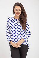 Блузка женская 115R286D цвет Бело-синий, фото 1