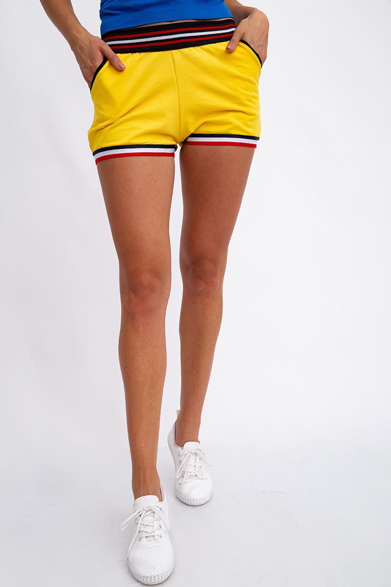 Шорты женские 117R2868 цвет Желтый