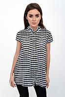 Блузка женская 115R191 цвет Черно-белый, фото 1