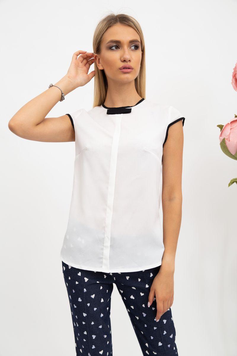 Блуза женская 115R180-6 цвет Кремовый