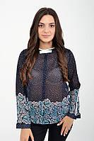 Блуза женская 115R036 цвет Темно-синий, фото 1
