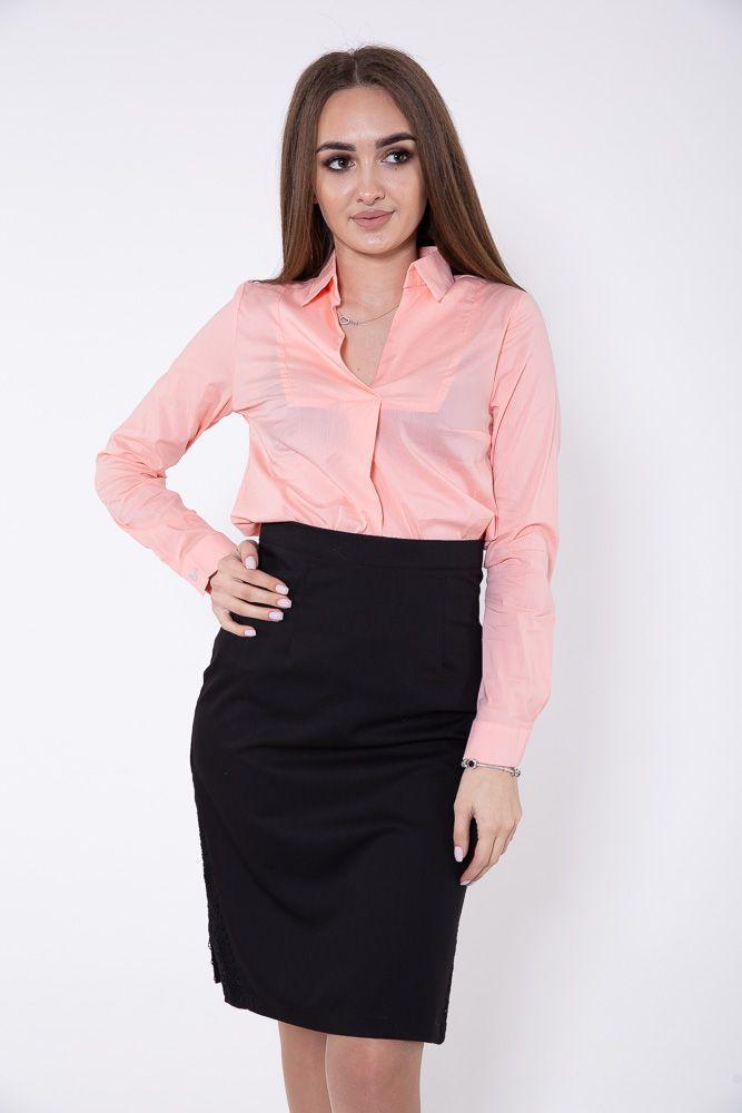 Блузка 115R339W цвет Персиковый
