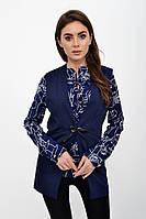 Жилет женский 115R339 цвет Темно-синий, фото 1