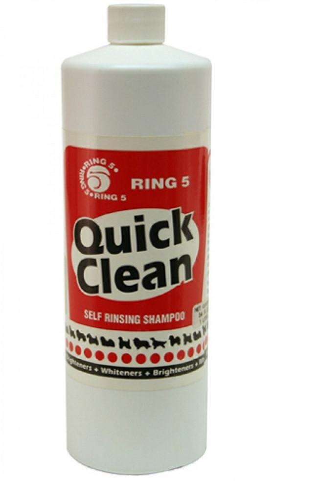 Ринг 5 БЫСТРАЯ ЧИСТКА RING 5 QUICK CLEAN шампунь не требующий смывания для собак, 475 мл