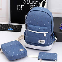 Відмінний набір Рюкзак барсетка, гаманець, фото 3