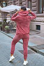 """Женский велюровый спортивный костюм """"FIFE"""" с капюшоном (большие размеры), фото 3"""