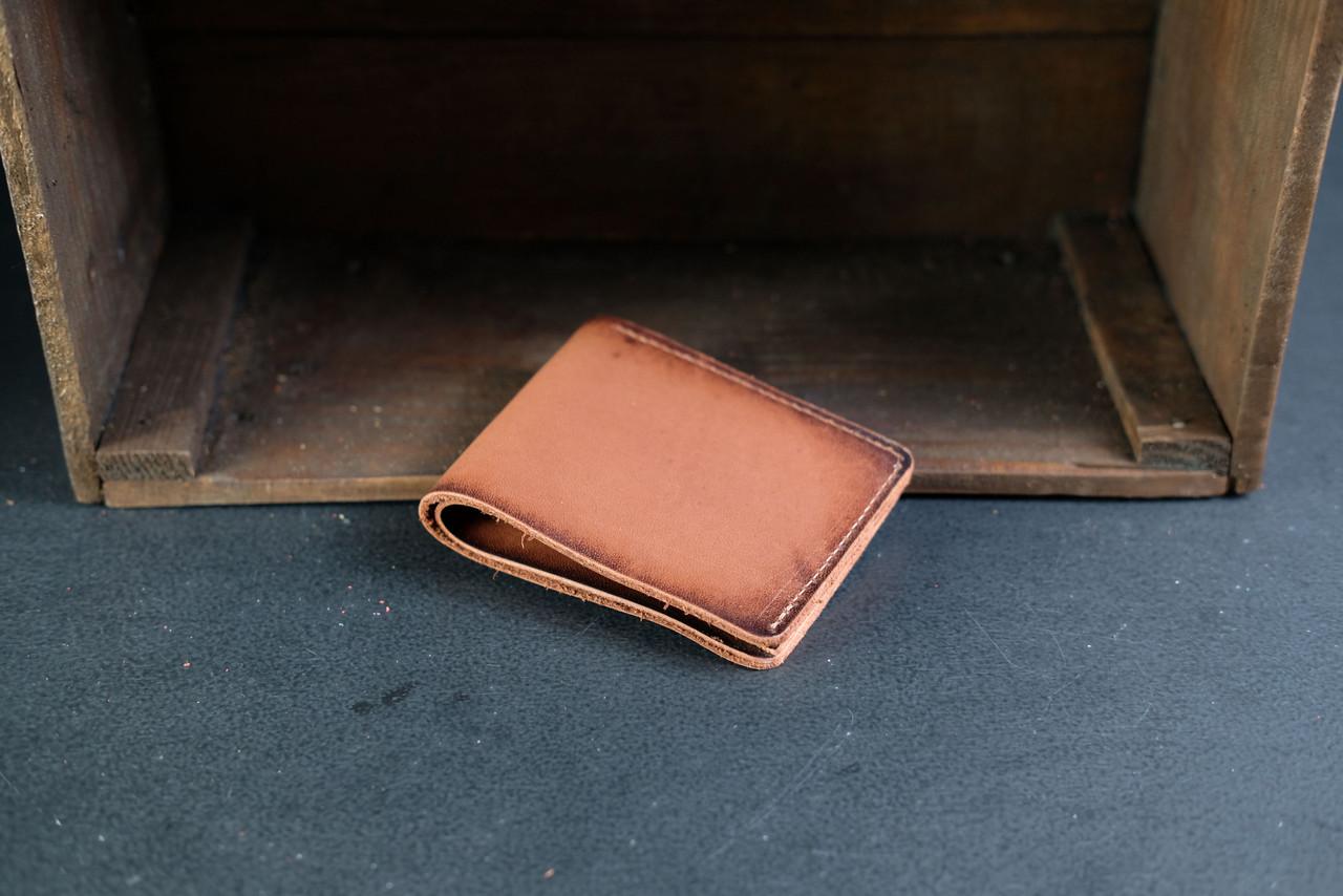 Классическое портмоне на 6 карт Краст цвет Коричневый