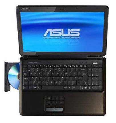 Ноутбук ASUS K55V-Intel Core i5-3210M-2.5GHz-4Gb-DDR3-320Gb-HDD-W15.6-Web-DVD-RW-NVIDIA GeForce GT610M(2Gb)- Б/У, фото 2
