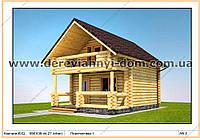 Проект дома S=71.18 м²