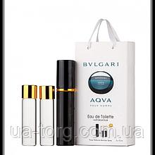 Парфюмерная вода мужская Bvlgari Aqva Pour Homme, 3x15 мл