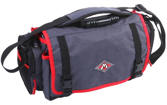 Сумка Mikado M-Bag для рыбалки универсальная UWI-M002 (34.5 см x 21.5 см x 15 см), фото 2