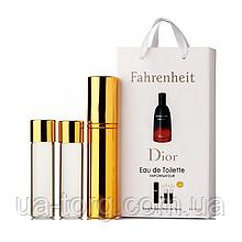 Парфюмерная вода мужская Christian Dior Fahrenheit, 3x15 мл