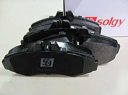 Тормозные колодки передние Mercedes Vito W638