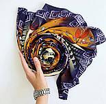 Палантин з віскози 10813-16, павлопосадский палантин з віскози, розмір 65х200, фото 9