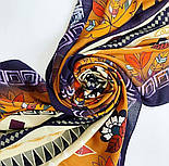 Палантин з віскози 10813-16, павлопосадский палантин з віскози, розмір 65х200, фото 8