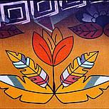 Палантин з віскози 10813-16, павлопосадский палантин з віскози, розмір 65х200, фото 2
