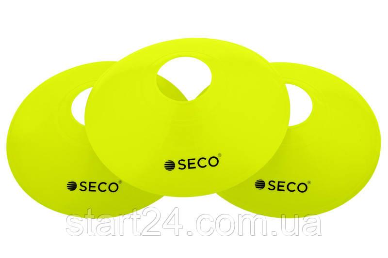 Разметочная фишка SECO цвет: салатовый неон