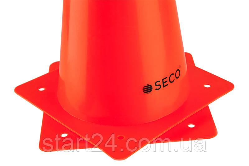 Тренировочный конус SECO 32 см цвет: оранжевый