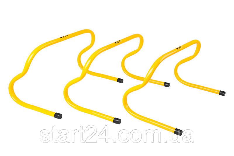 Беговой барьер SECO 23 см цвет: желтый