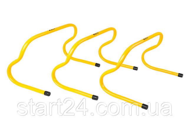 Беговой барьер SECO 23 см цвет: желтый , фото 2