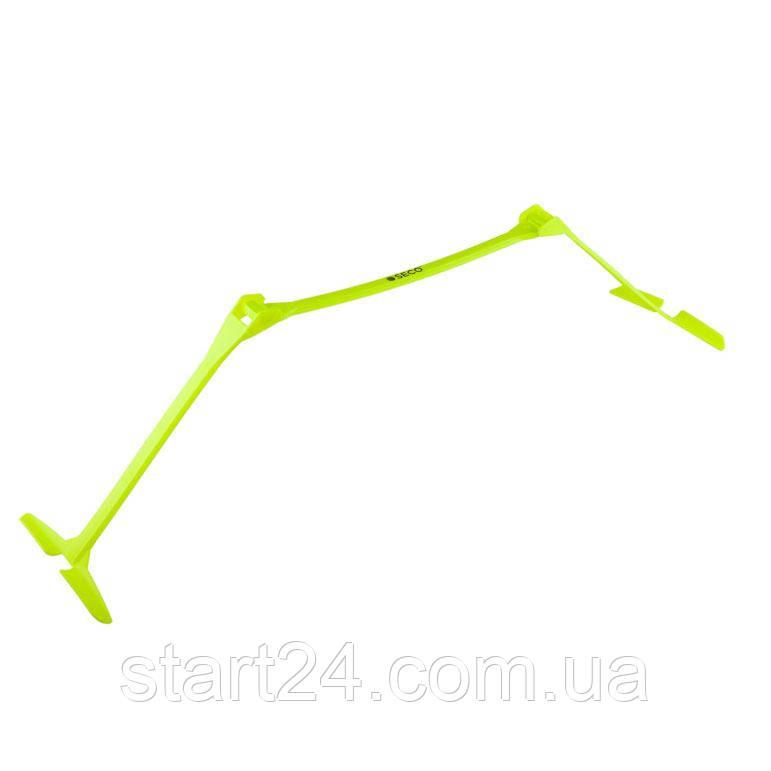Раскладной беговой барьер SECO 15-33 см цвет: неон