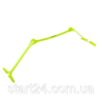 Раскладной беговой барьер SECO 15-33 см цвет: неон, фото 2