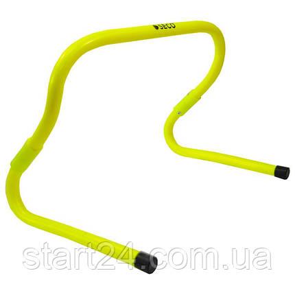 Барьер для бега SECO® 15-33 см неонового цвета, фото 2