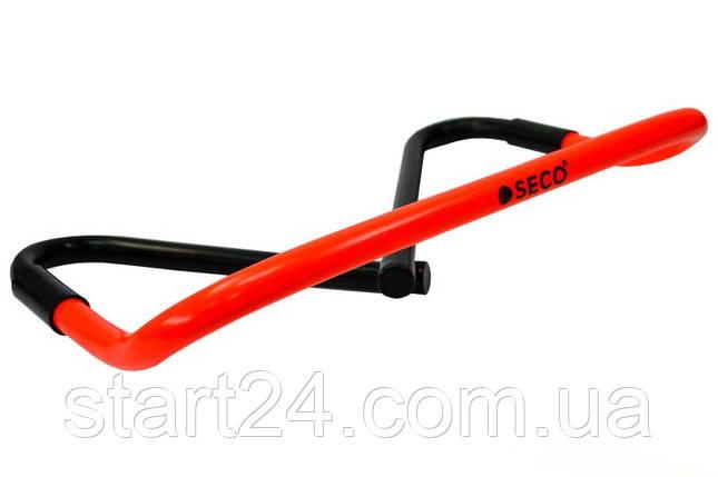 Барьер для бега SECO® 15-33 см оранжевого цвета, фото 2