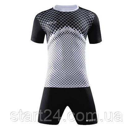 Форма футбольная SECO Geometry Set цвет: черный, белый, фото 2