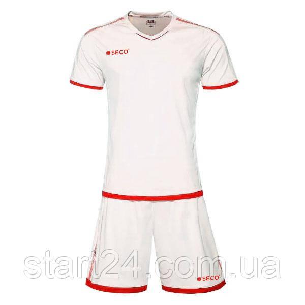Форма футбольная SECO Basic Set цвет: красный, белый