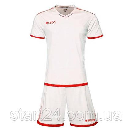 Форма футбольная SECO Basic Set цвет: красный, белый, фото 2