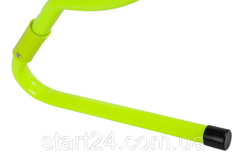 Набор беговых барьеров SECO 15-33 см цвет: неон (5 шт)