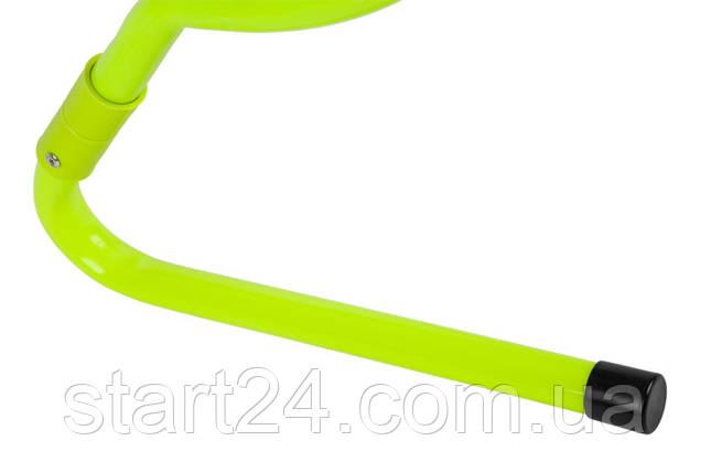 Набор беговых барьеров SECO 15-33 см цвет: неон (5 шт) , фото 2