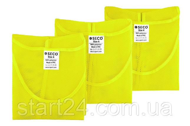 Манишка для футбола салатового цвета SECO, фото 2
