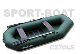 "Надувная гребная лодка ""Sport-Boat"" Cayman C270LS (021-0014)"