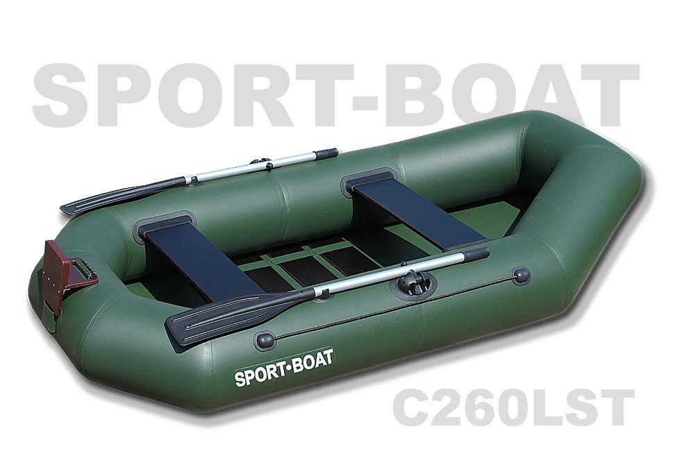"Надувная гребная лодка ""Sport-Boat"" Cayman C260LST (021-0017)"