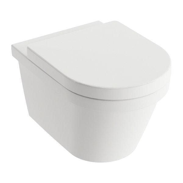 Унитаз подвесной Ravak WC Chrome RimOff 360x525x350 мм