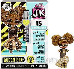 "Игровой набор с куклой L.O.L. SURPRISE! серии ""J.K."" -  ЛОЛ Королева Пчелка JK Queen Bee Mini Fashion Doll"