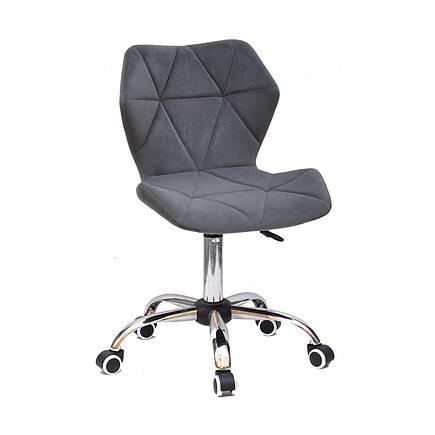 Кресло компьютерное с бархатной обивкой TORINO CH-Office бархат, фото 2