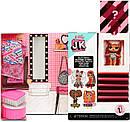 """Ігровий набір з лялькою L. O. L. SURPRISE! серії """"J. K."""" - ЛОЛ ЛЕДІ - Діва JK Diva Mini Fashion Doll with 15 Sur, фото 3"""
