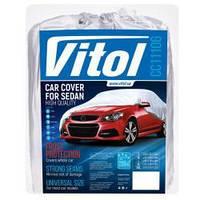 """Тент для авто """"М"""" 432х165х119, серый, Vitol CC11106M"""