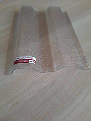ПОЛІКАРБОНАТНИЙ ШИФЕР Rober прозорий 2000*1045*0,5 мм трапеція
