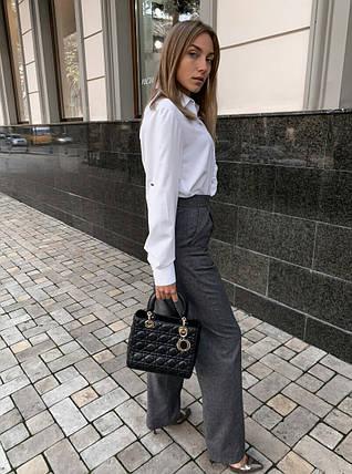 Сірі штани палаццо, фото 2