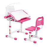 Эргономический комплект Cubby парта и стул-трансформеры Vanda Pink, фото 4